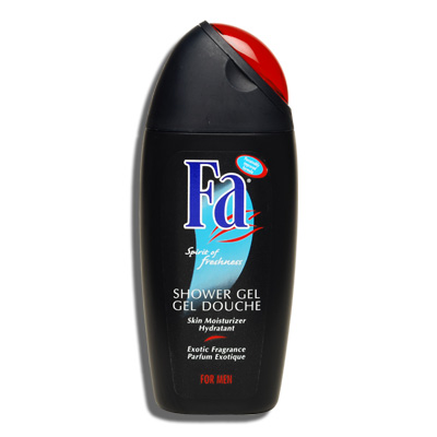 fa shower gel for men a unique combination of gentle cleansing and exotic fragrance enjoy its spicy fragrance a combination of green notes