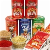 Seasonings - Specially Selected Paprika, Spices and Mixes