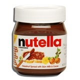 NUTELLA, HAZELNUT SPREAD