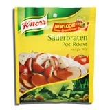 KNORR, SAUERBRATEN POT ROAST RECIPE MIX