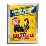 PODRAVKA, CHICKEN FLAVORED NOODLE SOUP MIX