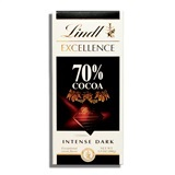 LINDT, EXCELLENCE 70% COCOA DARK CHOCOLATE