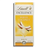 LINDT, EXCELLENCE WHITE COCONUT CHOCOLATE