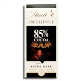 LINDT, EXCELLENCE 85% COCOA DARK CHOCOLATE