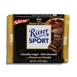 RITTER, DARK CHOCOLATE WITH MOUSSE