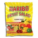HARIBO, FRUIT SALAD GUMMI CANDY
