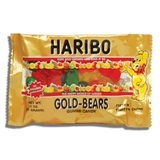 HARIBO, GOLD-BEARS GUMMI CANDY SMALL