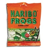 HARIBO, FROGS GUMMI CANDY
