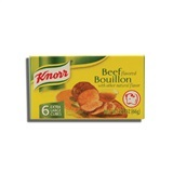 KNORR, BEEF BOUILLON CUBES