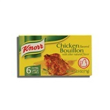 KNORR, CHICKEN BOUILLON CUBES