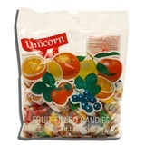 UNICORN, FRUIT FILLED CANDY