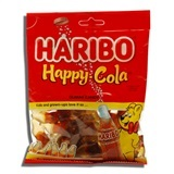 HARIBO, HAPPY COLA GUMMI CANDY