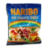 HARIBO, MINI RAINBOW FROGS GUMMI CANDY