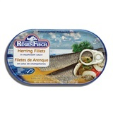 RUGENFISCH, HERRING FILLETS IN MUSHROOM SAUCE