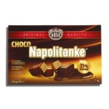 KRAS, NAPOLITANKE CHOCOLATE COATED WAFERS