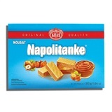 KRAS, NAPOLITANKE NOUGAT CREAM WAFERS