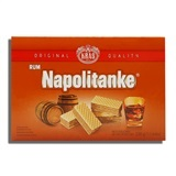 KRAS, NAPOLITANKE RUM CREAM WAFERS