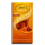 LINDT, LINDOR CARAMEL MILK CHOCOLATE WITH SMOOTH FILLING