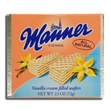 MANNER, VANILLA CREAM FILLED WAFERS