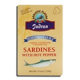 MEDITERRANEAN SEA, SARDINES WITH HOT PEPPER