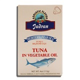 MEDITERRANEAN SEA, TUNA FILLETS IN VEGETABLE OIL