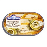 RUGENFISCH, HERRING FILLETS IN MUSTARD SAUCE