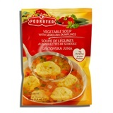 PODRAVKA, VEGETABLE SOUP WITH DUMPLINGS