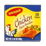 MAGGI, CHICKEN BOUILLON 20 CT.